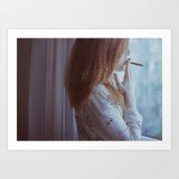 Lidia Art Print
