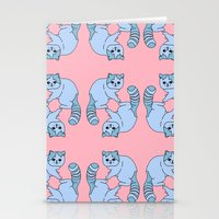 Playful Kittens, 2014. Stationery Cards