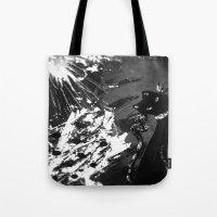 Black Cat Storm Tote Bag