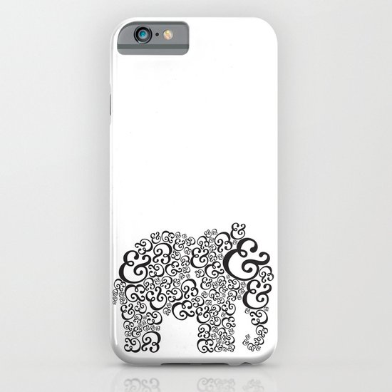 Ampersand Elephant iPhone & iPod Case