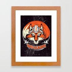 Red Leader Framed Art Print