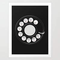 Art Print featuring Rotary Me by Boots