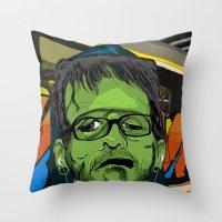 Hip Frankenstein Throw Pillow