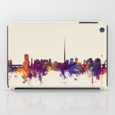 Dublin Ireland Skyline iPad Case