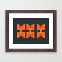Hi Framed Art Print