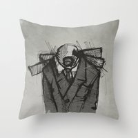 Wraith I. Throw Pillow