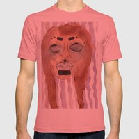 hurt Mens Fitted Tee Pomegranate SMALL