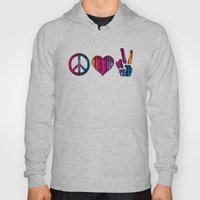Peace Love and more Peace Hoody