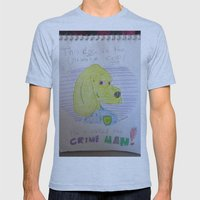 Bootleg Series: Crime Man Mens Fitted Tee Athletic Blue SMALL