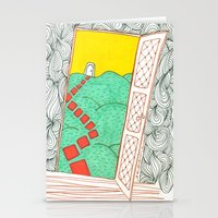 (Door) Il Me Semble Que … Stationery Cards
