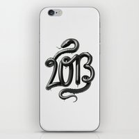 2013 - Year of the Black Water Snake iPhone & iPod Skin