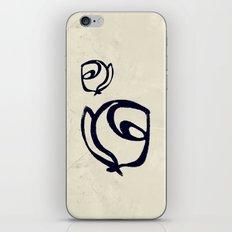 Flowers, Mother-Daughter Tan iPhone & iPod Skin
