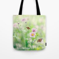 Tote Bag featuring In The Garden Of Bliss by Shilpa