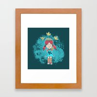 DILLEMA Framed Art Print