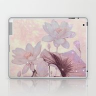Pastel Waterlily Laptop & iPad Skin