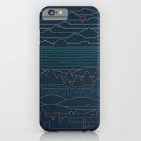 Linear Landscape iPhone 6 Slim Case