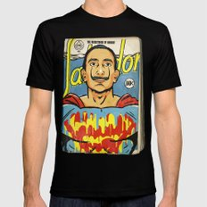 The Salvador Mens Fitted Tee Black SMALL