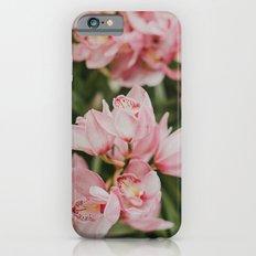 Ice-Cream Orchids Slim Case iPhone 6s