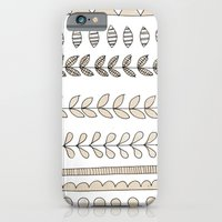 Pastel Patterns - Natural iPhone 6 Slim Case
