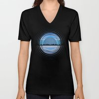 Textures/Abstract 113 Unisex V-Neck