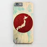 iPhone & iPod Case featuring To Japan by Fhil Navarro