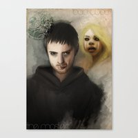 the Master & the BadWolf Canvas Print