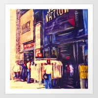 Melrose St, Los Angeles,… Art Print