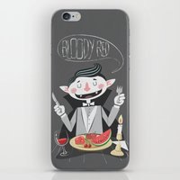 Vegan Vampire iPhone & iPod Skin