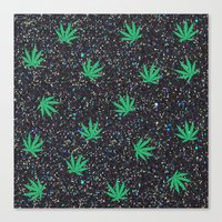 Glittery Canvas Print