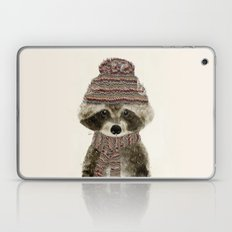 little indy raccoon Laptop & iPad Skin