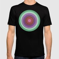 Concentric Mens Fitted Tee Black SMALL