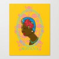 HAVANERA Canvas Print