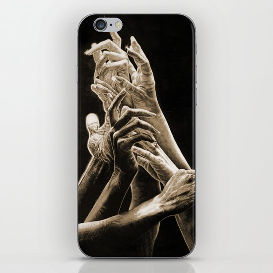 Quest for Light #2 iPhone & iPod Skin