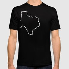 Ride Statewide - Texas Black SMALL Mens Fitted Tee