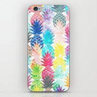 Hawaiian Pineapple Patte… iPhone & iPod Skin