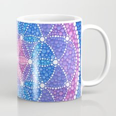 Starry Flower Of Life Mug