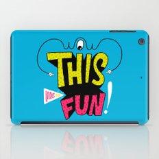 Wow this looks like fun! iPad Case
