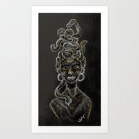 Gorgon Art Print