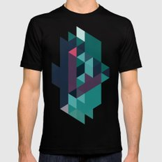 color story - macrocosm SMALL Mens Fitted Tee Black