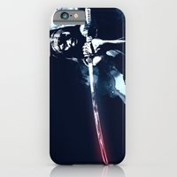 iPhone Cases featuring Michonne by Budi Kwan
