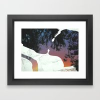 And this is when We knew Framed Art Print