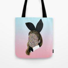 Playboy Bunny Girl Tote Bag