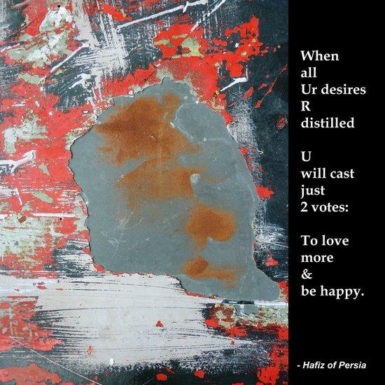 LOVE More & BE Happy! Art Print