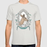 Severus Mens Fitted Tee Silver SMALL