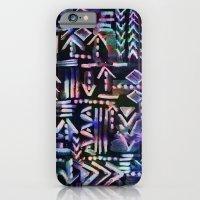 Tapa Tribal Black iPhone 6 Slim Case