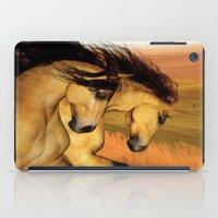 HORSES - The Buckskins iPad Case