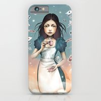 iPhone & iPod Case featuring It's time for tea Alice by Saga-Mariah