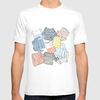 La Marinière Mens Fitted Tee White SMALL