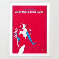No271 My ROGER RABBIT Mi… Art Print