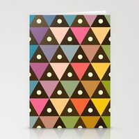 Cosmic Triangles Stationery Cards